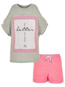 river-island-girls-kimono-top-and-shorts-set