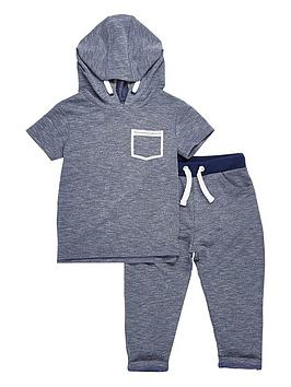 river-island-mini-mini-boys-short-sleeve-hoodie-and-joggers-set