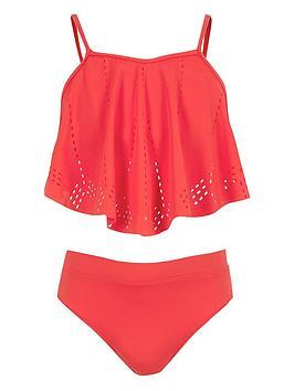 river-island-girls-red-laser-cut-bikini