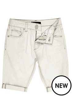 river-island-boys-off-white-denim-shorts-with-turn-ups
