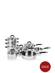 swan-8-piece-silicon-handled-pan-set-ndash-stainless-steel