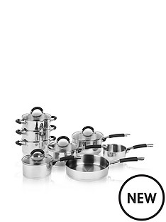 swan-8-piece-silicon-handled-pan-set-stainless-steel