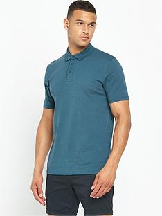 v-by-very-short-sleeve-slub-jersey-polo