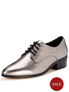 dune-loris-metallic-leather-brogue