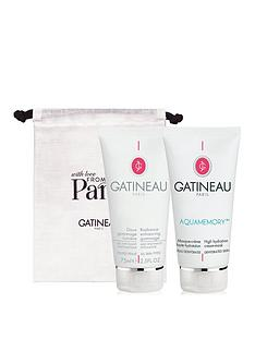 gatineau-radiance-gommage-and-aquamemory-mask-duo