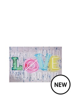 graham-brown-neon-love-printed-canvas