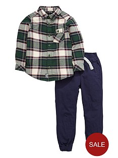 mini-v-by-very-boys-check-shirt-and-cuffed-bottoms-set