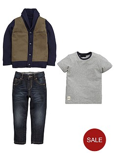 mini-v-by-very-boys-twill-and-knit-mix-cardigan-t-shirt-and-jeans-set-3-piece
