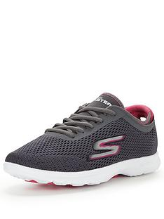 skechers-go-step-sport-lace-up-shoe-charcoalpink