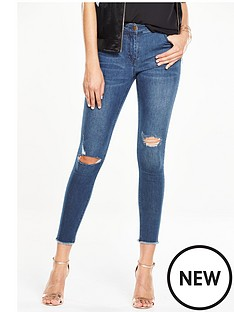 v-by-very-petite-ella-high-rise-rip-and-repair-stepped-hem-skinny-jean