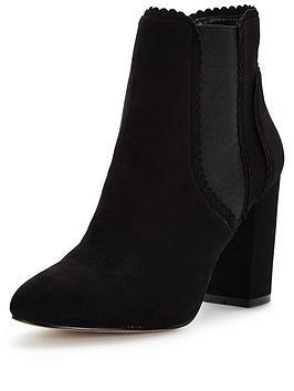 lipsy-block-elastic-ankle-boot