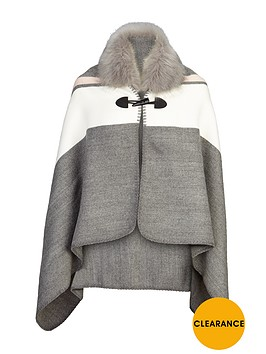 v-by-very-girls-faux-fur-trim-hooded-cape