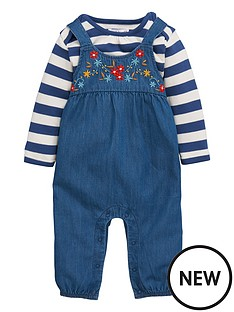 ladybird-baby-girls-chambray-dungaree-and-stripe-tee-set