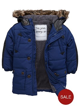mini-v-by-very-boys-pu-trim-padded-coat
