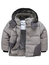 Boys Hooded Quilted Coat