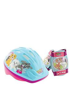puppy-parade-puppy-parade-safety-helmet-amp-pad-set