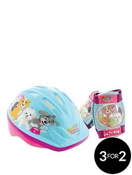 puppy-parade-puppy-parade-safety-helmet-amp-pad-set