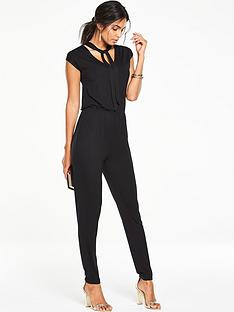v-by-very-petite-tie-neck-jersey-jumpsuit