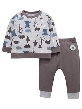 ladybird-baby-boys-bear-print-sweat-top-and-joggers-set
