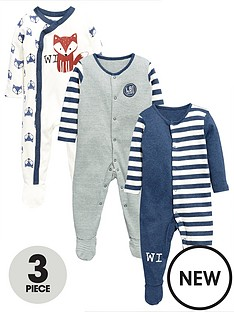 ladybird-baby-boys-3-pack-fashion-sleepsuits