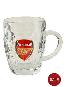 arsenal-dimple-pint-glass