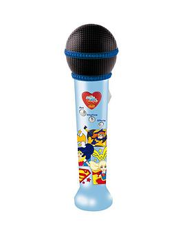 dc-super-hero-girls-recording-microphone
