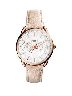 fossil-fossil-jacqueline-white-dial-rose-tone-case-papaya-leather-strap-ladies-watch