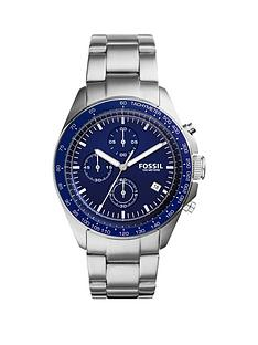 fossil-fossil-sport-54-blue-dial-chronograph-stainless-steel-bracelet-watch