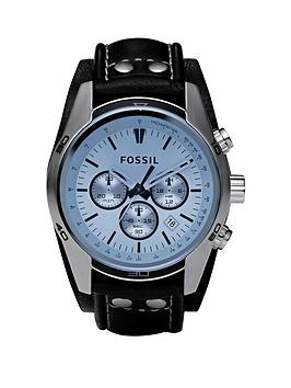 fossil-coachman-blue-dial-black-leather-strap-mens-watch