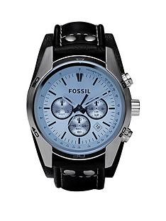 fossil-fossil-coachman-blue-dial-black-leather-strap-mens-watch