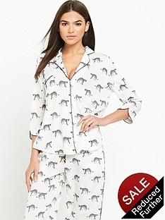 river-island-cheetah-print-pyjama-shirt