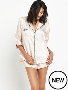 river-island-river-island-geo-jacquard-pyjama-shirt