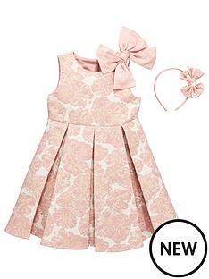 mini-v-by-very-girls-large-bow-shoulder-jacquardnbspdress-with-headband