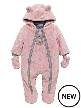 ladybird-baby-girls-fleece-quilted-cuddle-suit-with-mittens