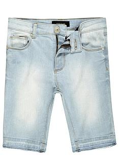 river-island-boys-skinny-denim-shorts