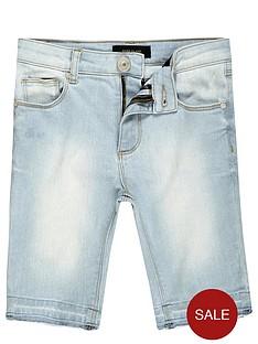river-island-boys-skinny-denim-shorts