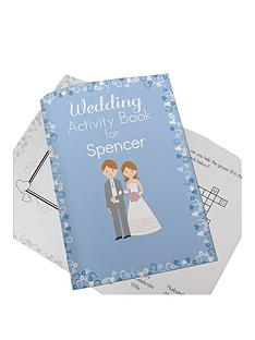 personalised-wedding-activity-book-for-boys