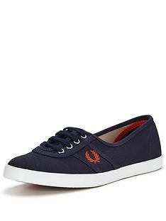 fred-perry-fred-perry-aubrey-twill-canvas-pump