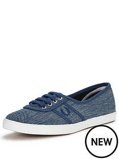 fred-perry-fred-perry-aubrey-space-dyed-canvas-pump
