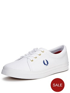 fred-perry-aubyn-canvas-pump