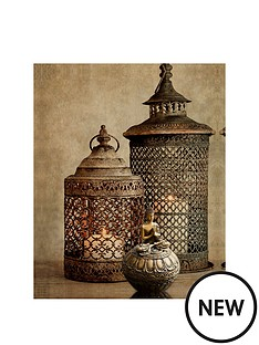 arthouse-luxe-moroccan-lanterns-printed-canvas