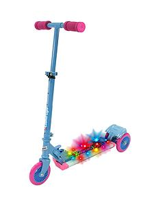 cosmic-light-scooter-with-step-on-function-pink