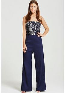 little-mistress-lace-bandeau-tailored-jumpsuitnbsp