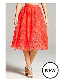 little-mistress-lace-scalloped-hem-skirtnbsp