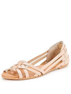 miss-selfridge-evienbsphuarachenbspflat-sandal