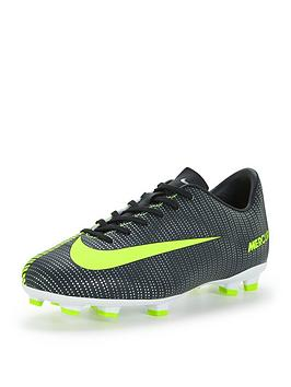 Nike Nike Junior Mercurial Vapor Cr7 Firm Ground Football Boots