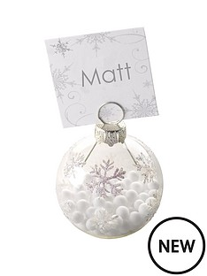 shimmering-snowflake-bauble-card-holders-pack-of-6