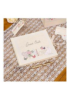 with-love-wedding-guest-book