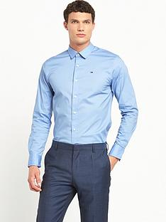 hilfiger-denim-stretch-long-sleeve-shirt
