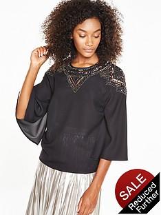 v-by-very-embellished-shoulder-cape-blouse